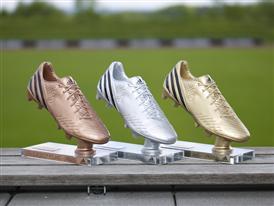 UEFA Euro 2012 top scorer trophies