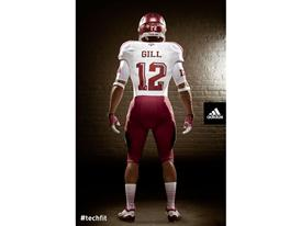 adidas Texas A&M Lone Star Away Uniform_Back