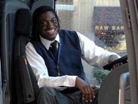 RGIII works as DC Bus Driver