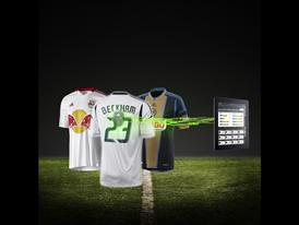 adidas micoach elite system with MLS shirts