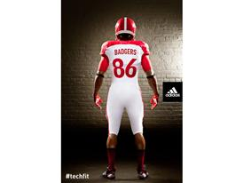 adidas Wisconsin Unrivaled Uniform BACK
