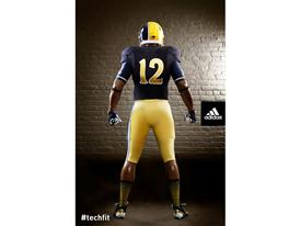 adidas Notre Dame Unrivaled Uniform Back