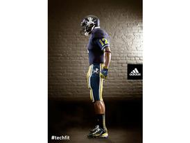 adidas Notre Dame Unrivaled Uniform Side