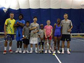 Tennis Icon Jack Sock and Kids