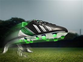 adizero f50 - green & black - motion