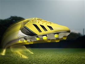 adizero f50 - yellow - motion
