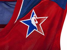 adidas NBA All-Star WEST Jersey Detail 1