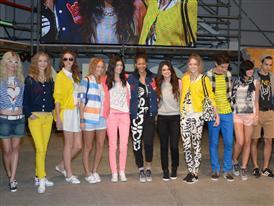 adidas NEO Label 2013SS Selena Gomez NY event