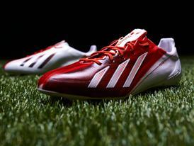 Leo Messi's new adizero f50 Messi boots