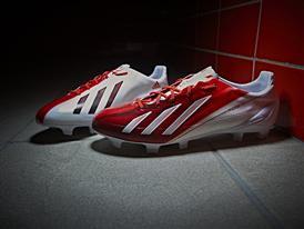 Leo Messi's exclusive adizero f50 boots