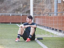 Leo Messi in his new, exclusive f50 boots