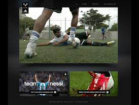 Team Messi Facebook Connect experience 2