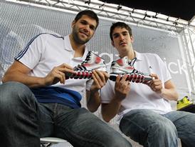 Felipe Reyes y Carlos Suárez 9