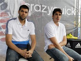Felipe Reyes y Carlos Suárez 11