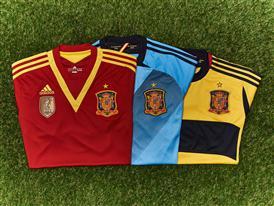 Spain Shirts 2