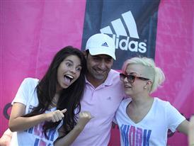 adidas събра дамите на тренировка в Южния парк