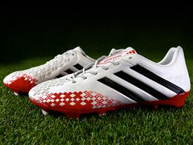 adidas Predator White & Red 3