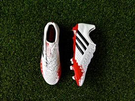 adidas Predator White & Red 17