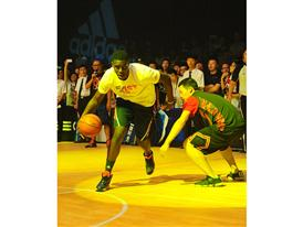 Q vs F China Tour Beijing-Fans Party 3 Jrue Holiday