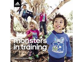 adidas Kids Monsters University Product Range