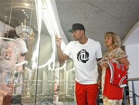 adidas, D Rose Tour, Zagreb, Croatia 4 (photo Derrick Rose and Biserka Petrovic)