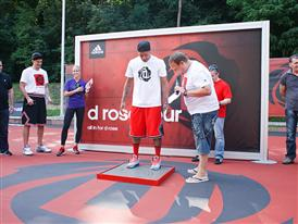 adidas D Rose Tour, Zagreb, Croatia, D Rose Court Dedication 1