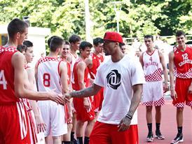 adidas D Rose Tour, Zagreb, Croatia, D Rose Court Dedication 2