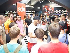 adidas D Rose Tour, Zagreb, Croatia, Meeting Fans
