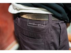 15 Years of Gonz and adidas Gonz Stretch Chino Pant detail - Lem Villemin