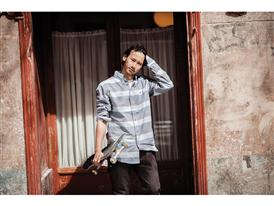 15 Years of Gonz and adidas Gonz Striped Oxford Shirt and Gonz Stretch Chino Pant - Lem Villemin