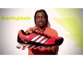 RGIII on adidas Springblade
