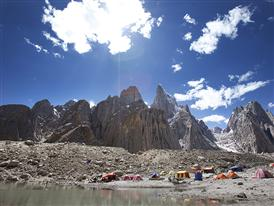 Base camp, Karakorum, Pakistan