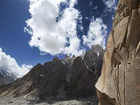 Simon Berger, Karakorum, Pakistan