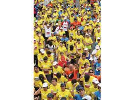 adidas y la media maratón de Bogotá; una alianza que crece 33