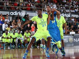 Kevon Looney & Trey Lyles - adidas Nations (day 4)