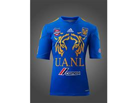 Presentan adidas y Tigres el nuevo uniforme de visita felino