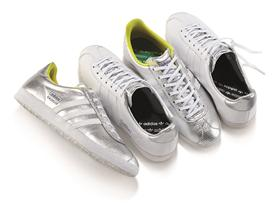 adidas Originals Ladies Metallic Gazelle