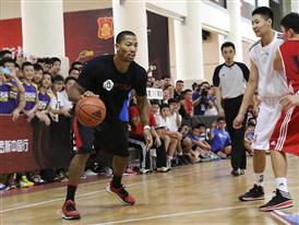 adidas D. Rose Tour in Dongguan, China 2