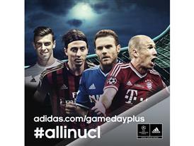 adidas стартира нова онлайн платформа за Шампионската лига на УЕФА