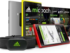 miCoach app for Windows Phone 8