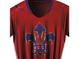adidas NBA All-Star Jersey WEST Detail 1 Clipped