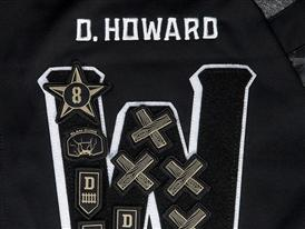 adidas NBA All-Star Warm-Up Dwight Howard Letter