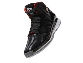 D Rose 4.5, Black, Front Angle