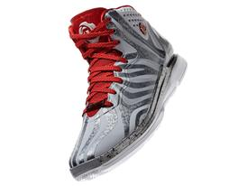 D Rose 4.5, Grey, Front Angle