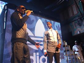 adidas in the Quarter (House of Blues) - Snoop Dogg & John Wall