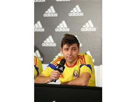 Raul Rusescu in Echipamentul Nationalei