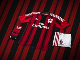 AC Milan 2014/15 Home Kit 8