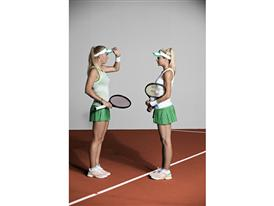 adidas by Stella McCartney Barricade SS14 French open Caroline Wozniacki Maria Kirilenko