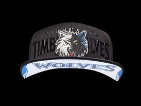 adidas NBA Draft Hat - TimberWolves