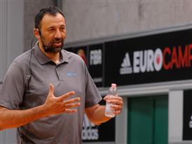 Vlade Divac adidas eurocamp 2014